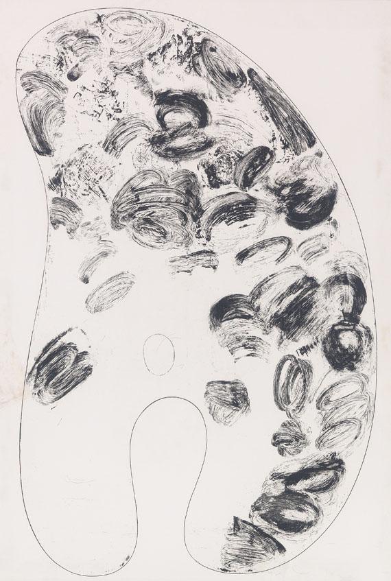 Jim Dine - Four Palettes -