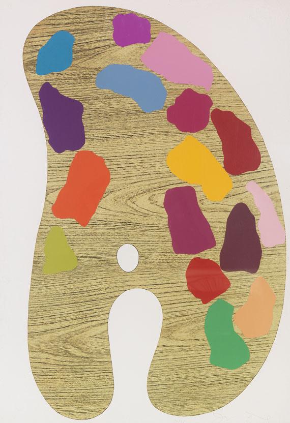 Jim Dine - Four Palettes