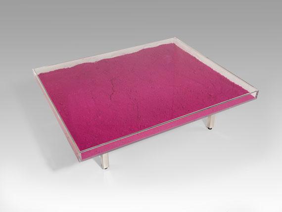Yves Klein - Table MonopinkTM