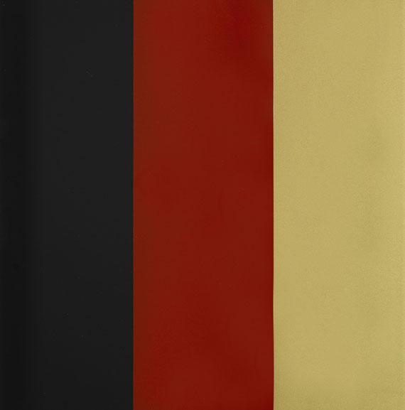 Gerhard Richter - Schwarz-Rot-Gold IV