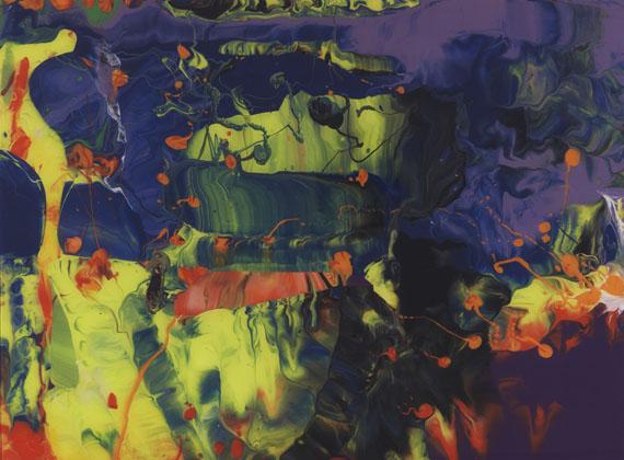 Gerhard Richter - Ifrit. Aladin. Bagdad I. Bagdad II