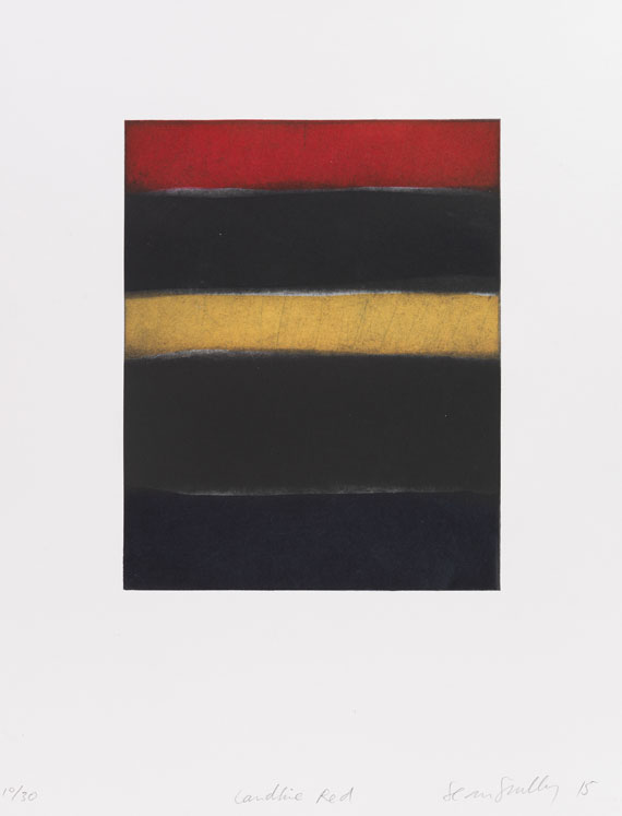 Sean Scully - Landline red