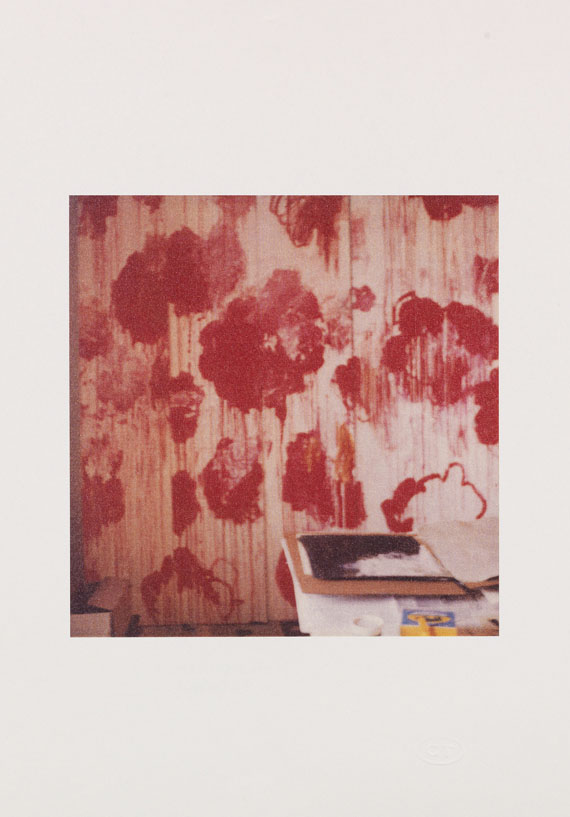 Cy Twombly - Unfinished Painting (Gaeta)