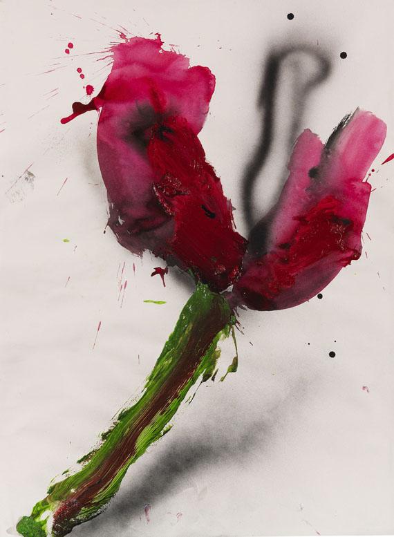 Dieter Krieg - Ohne Titel (Tulpe)