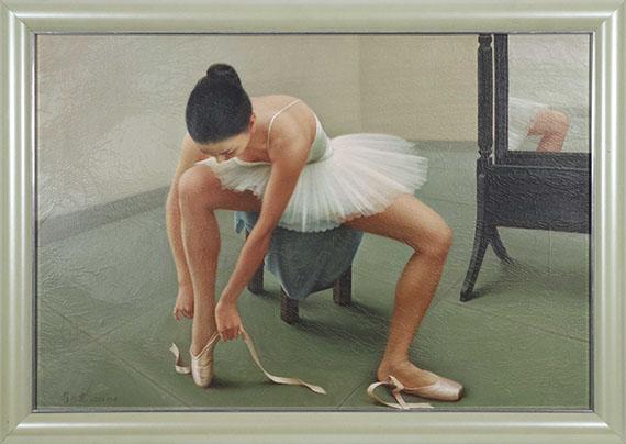 Zhai Xinjian - Reflection - Rahmenbild