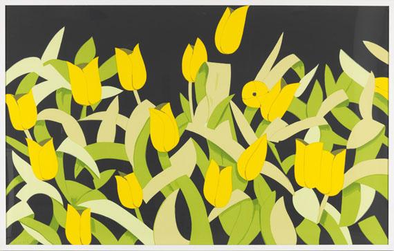 Alex Katz - Yellow Tulips - Frame image