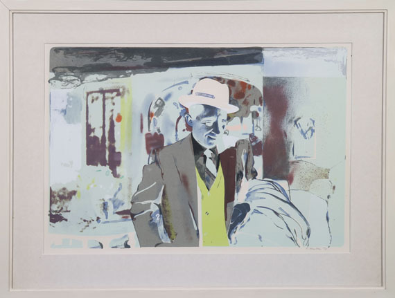 Richard Hamilton - I'm dreaming of a white Christmas - Frame image