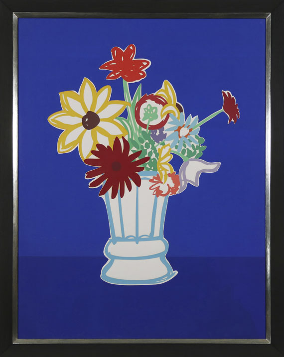 Tom Wesselmann - Country Bouquet with Blue - Frame image