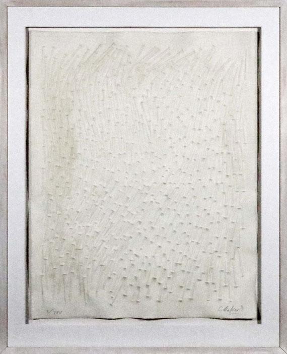 Günther Uecker - Ohne Titel - Frame image