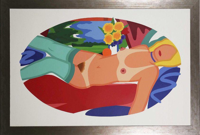 Tom Wesselmann - Beautiful Bedroom Kate - Frame image