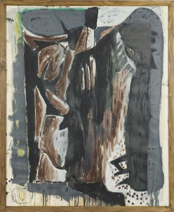 Markus Lüpertz - Melancholie - Rahmenbild