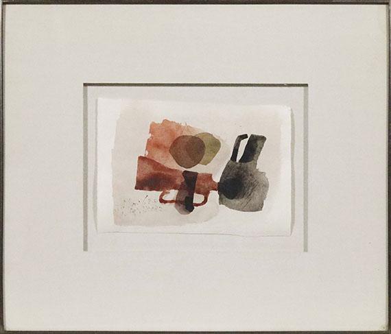 Julius Bissier - 3 Mai 62 R - Rahmenbild