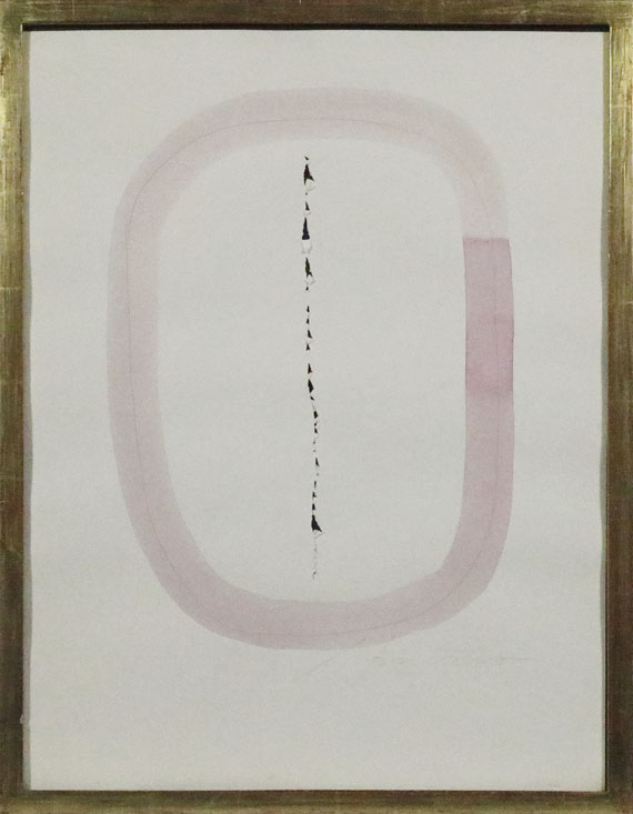 Lucio Fontana - Concetto spaziale - Rahmenbild