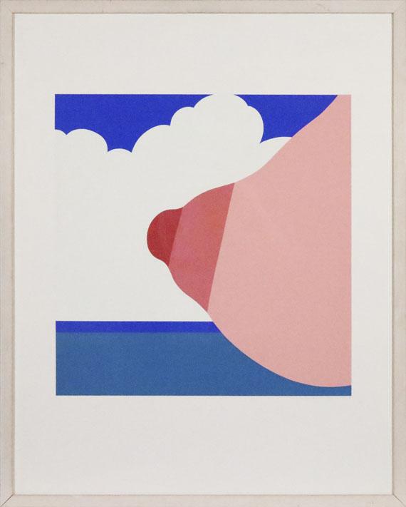 Tom Wesselmann - Seascape (Tit) - Rahmenbild