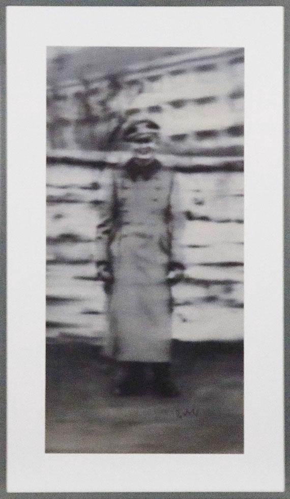 Gerhard Richter - Onkel Rudi - Rahmenbild