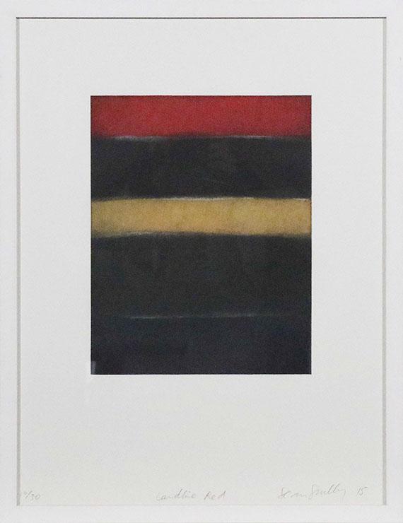Sean Scully - Landline red - Rahmenbild