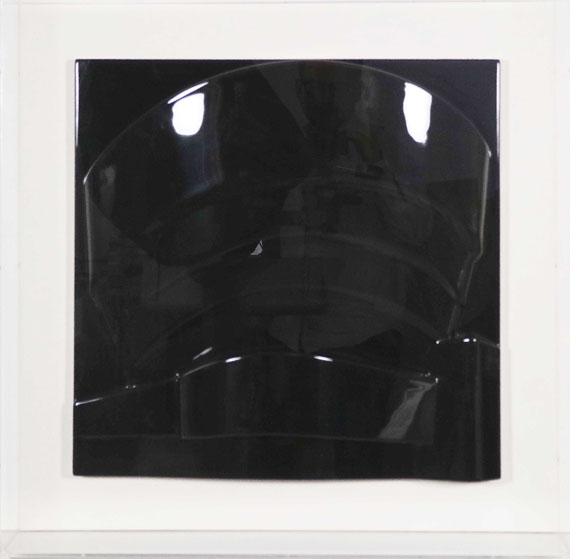 Richard Hamilton - Guggenheim (a) - black - Frame image