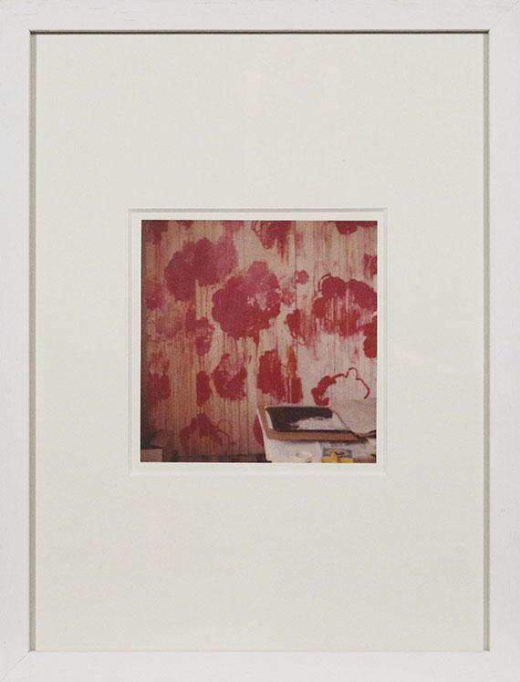 Cy Twombly - Unfinished Painting (Gaeta) - Rahmenbild