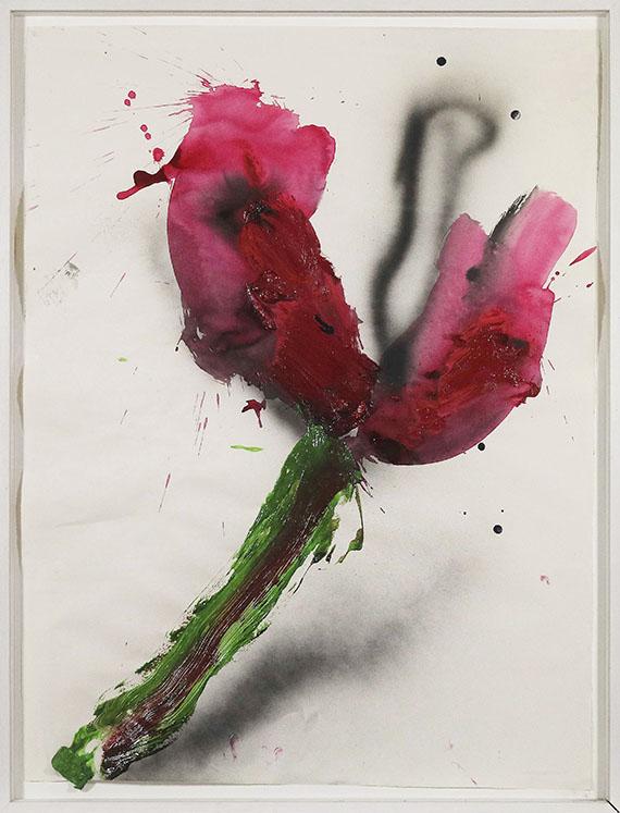 Dieter Krieg - Ohne Titel (Tulpe) - Rahmenbild