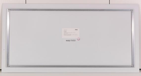 Gerhard Richter - Flow - Back side