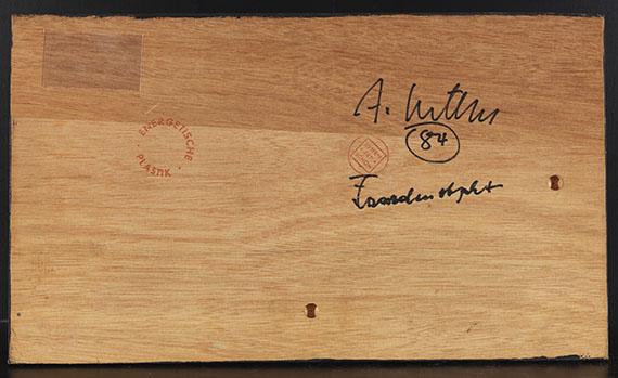Adolf Luther - Fassadenobjekt - Back side