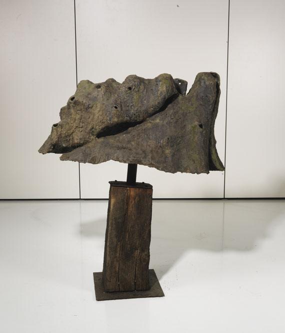 Emil Cimiotti - Landschaftliches Motiv II - Rückseite
