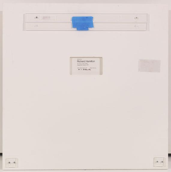 Richard Hamilton - Guggenheim (a) - black - Back side