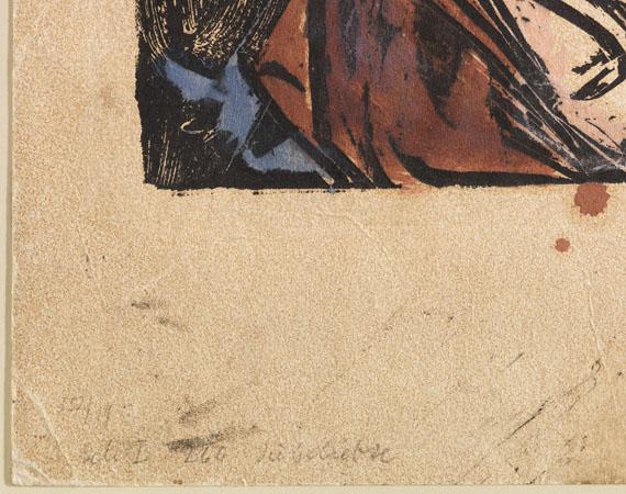 Ernst Ludwig Kirchner - Die Geliebte - Weitere Abbildung