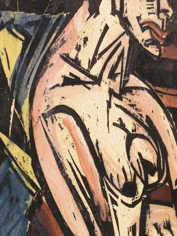 Ernst Ludwig Kirchner - Die Geliebte -