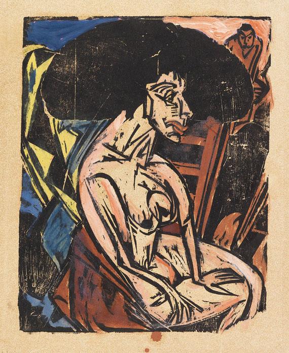 Ernst Ludwig Kirchner - Die Geliebte