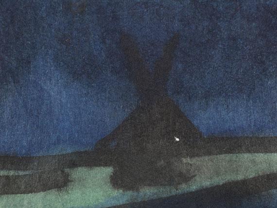Emil Nolde - Landschaft um Utenwarf (Wiedau-Niederung mit Hof Petersen) - Weitere Abbildung