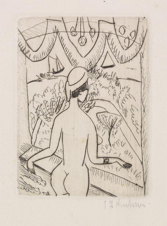 Ernst Ludwig Kirchner - Nackte Frau am Fenster, Fehmarn