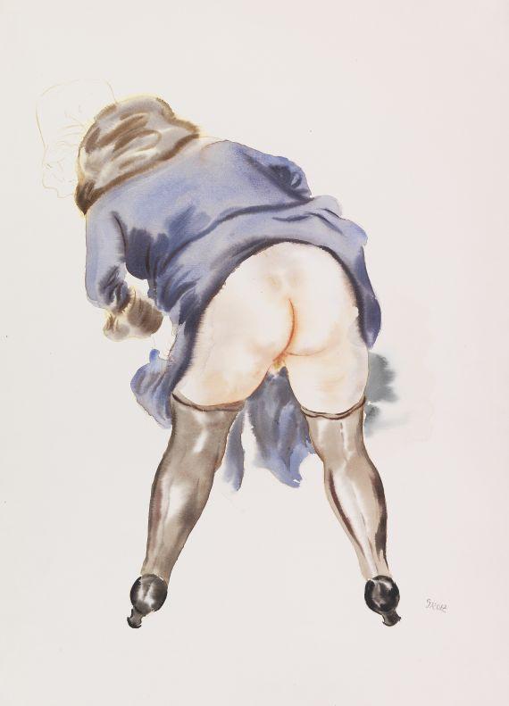 George Grosz - Studie, Lotte Schmalhausen
