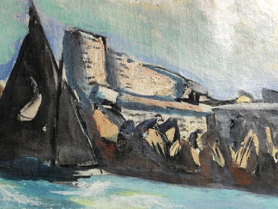 Max Beckmann - Château d'If -