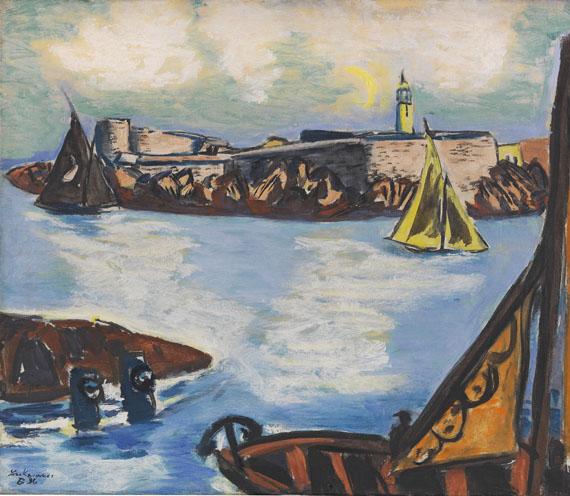 Max Beckmann - Château d'If