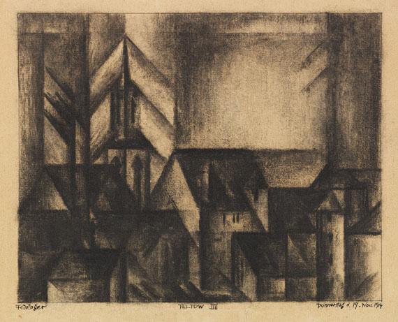 Lyonel Feininger - Teltow IIII