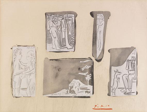 Pablo Picasso - Couple Debout