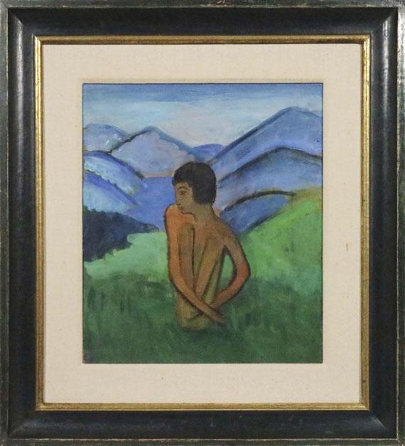 Gabriele Münter - Javanerkind Maddy - Frame image