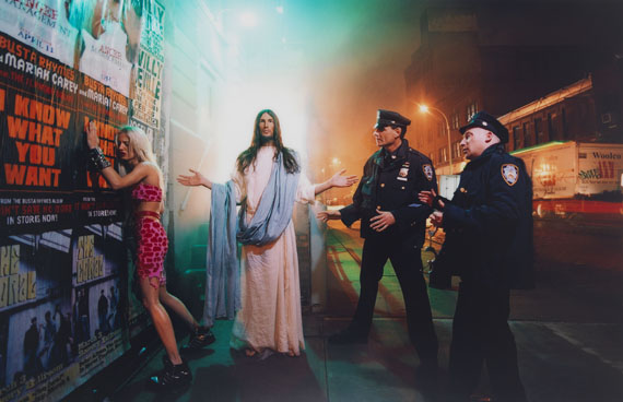 David LaChapelle - Intervention (aus der Serie: Jesus is my Homeboy)