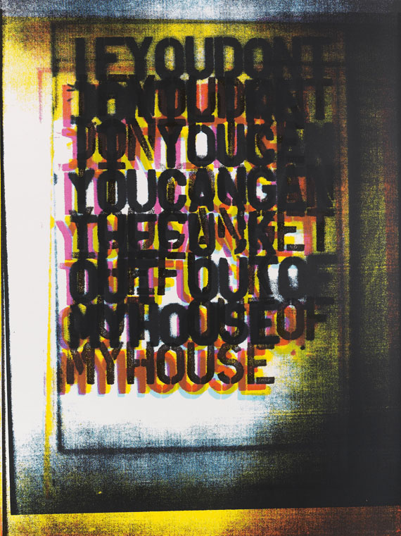 Christopher Wool - My House I