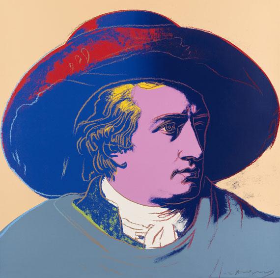 Andy Warhol - Goethe