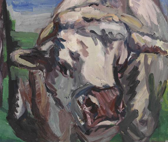 Georg Baselitz - Zwei halbe Kühe -