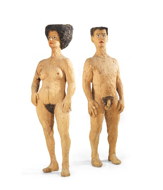 Stephan Balkenhol - Mann und Frau
