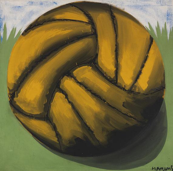 Markus Lüpertz - Fußball