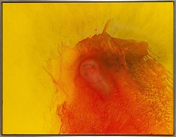 Otto Piene - Yellow Diary 3 - Frame image