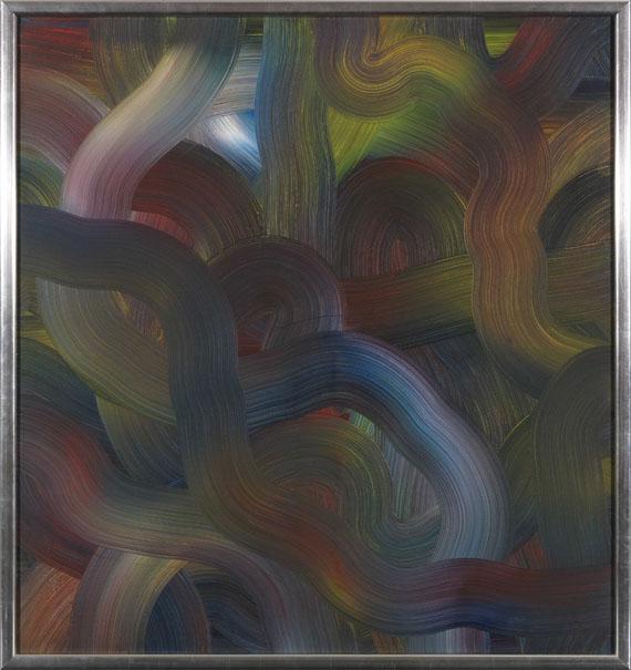 Gerhard Richter - Rot-Blau-Gelb - Rahmenbild