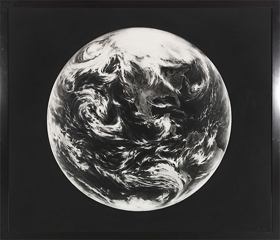 Robert Longo - Untitled (Earth, for Zander) - Rahmenbild