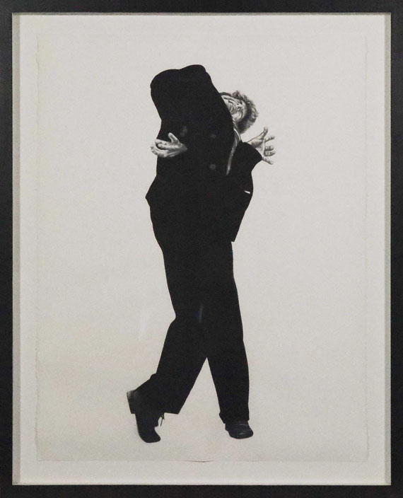 Robert Longo - Untitled (Eric - Men in the Cities) - Rahmenbild