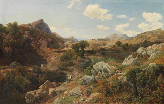Valentin Ruths - Ziegelhütten im Sabinergebirge