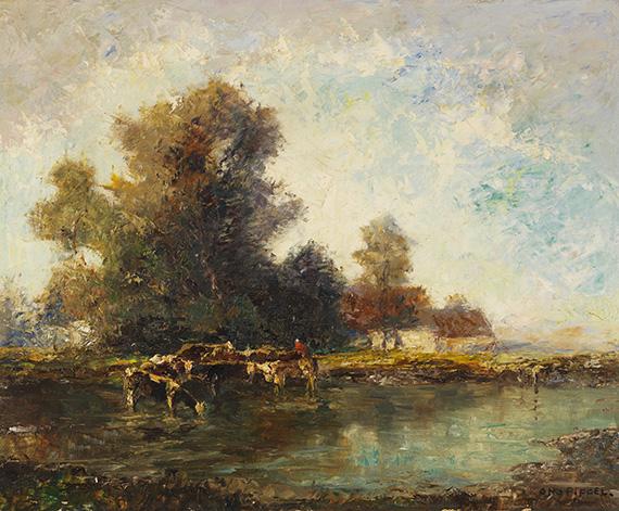 Otto Pippel - Alte Mühle in Bayern
